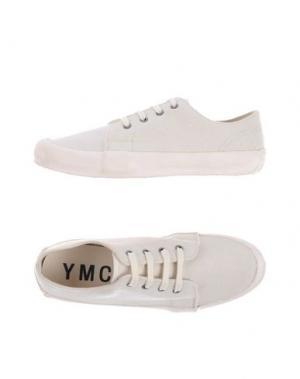 Низкие кеды и кроссовки YMC YOU MUST CREATE. Цвет: бежевый