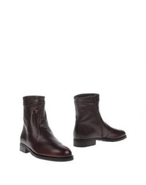 Полусапоги и высокие ботинки VALLEVERDE. Цвет: какао