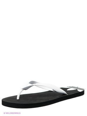 Пантолеты Adidas. Цвет: белый
