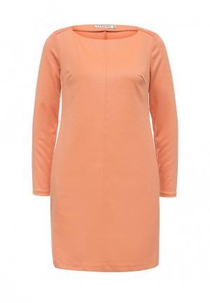 Платье Yarmina. Цвет: оранжевый