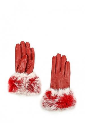Перчатки Mascotte. Цвет: красный