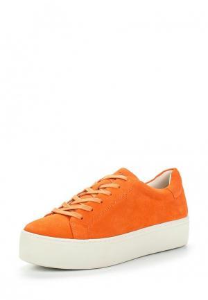 Кеды Vagabond. Цвет: оранжевый