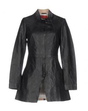 Легкое пальто FREAKY NATION. Цвет: стальной серый