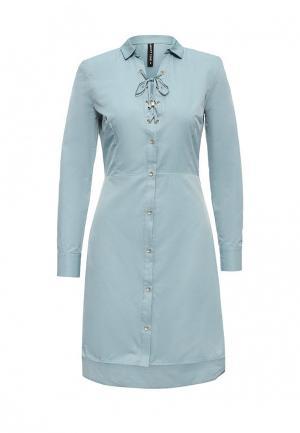 Платье Concept Club. Цвет: голубой
