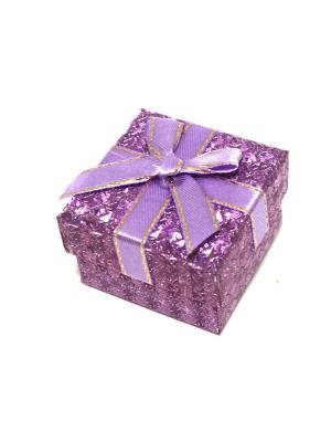 Подарочная коробка для ювелирных украшений Eleon. Цвет: фиолетовый