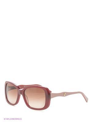 Солнцезащитные очки Pierre Cardin. Цвет: темно-красный, бордовый