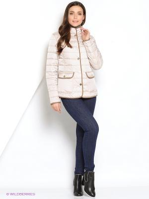 Куртка DIXI CoAT. Цвет: молочный