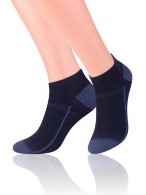 Комплект мужских носков Steven, 41-43, бел/т.-син, т.-син/серо-голуб меланж, т.-син меланж/зеленый Steven. Цвет: белый, темно-синий, зеленый, серо-голубой