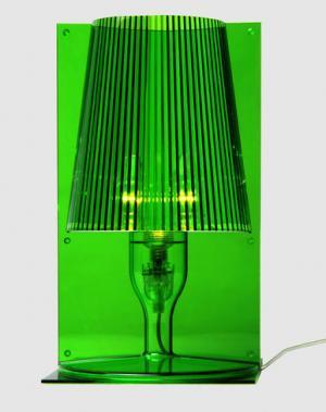 Настольная лампа KARTELL. Цвет: зеленый