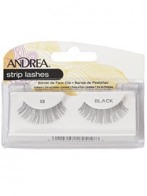 Andrea 25510 Mod Strip Lashes 52 Накладные ресницы Andrea.. Цвет: черный