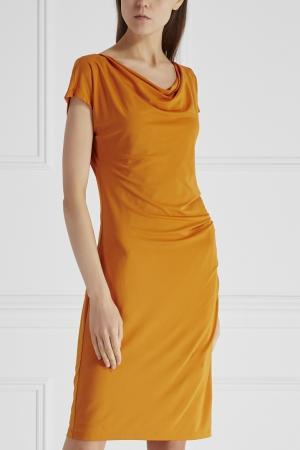 Платье Ucraina Marella. Цвет: оранжевый