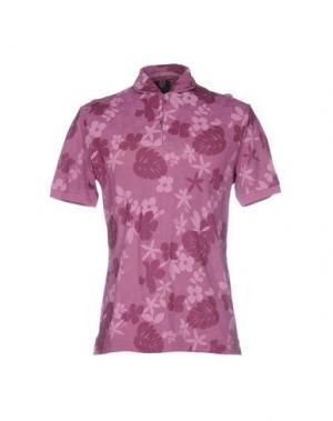 Поло ORIAN. Цвет: розовато-лиловый