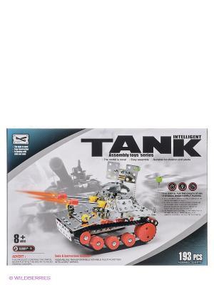 Конструктор Intelligent Tank YONGTAI. Цвет: серый, красный