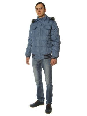 Куртка Diamond. Цвет: серо-голубой