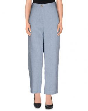 Повседневные брюки JUCCA. Цвет: грифельно-синий