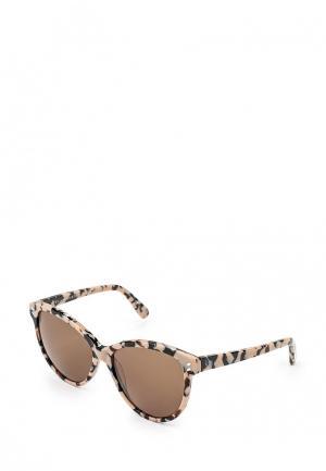 Очки солнцезащитные Stella McCartney. Цвет: мультиколор