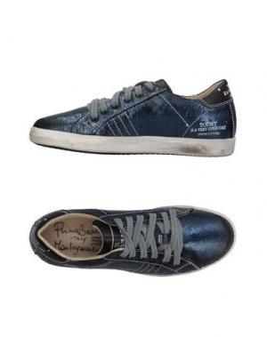 Низкие кеды и кроссовки PRIMABASE. Цвет: темно-синий