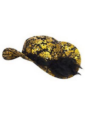 Шляпа карнавальная СНОУБУМ. Цвет: черный