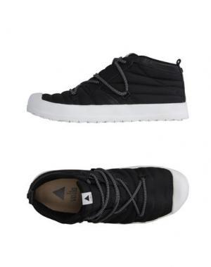 Высокие кеды и кроссовки VOLTA. Цвет: черный