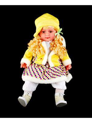Кукла интерактивная Natali Kovaltseva. Цвет: белый, желтый