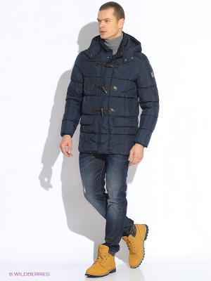 Куртка WPM. Цвет: темно-синий
