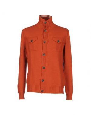 Кардиган NANIBON. Цвет: оранжевый