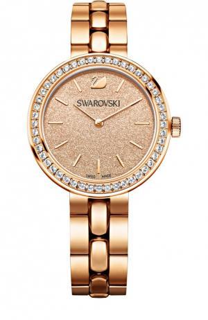 Наручные часы Daytime с покрытием из золота Swarovski. Цвет: золотой