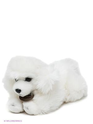 Мягкая игрушка Пудель Aurora. Цвет: белый