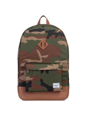 Рюкзак HERITAGE (A/S) Herschel. Цвет: темно-коричневый,хаки