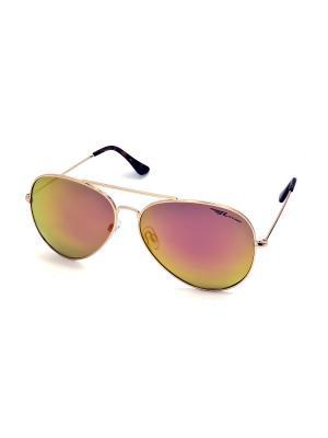 Солнцезащитные очки Legna. Цвет: оранжевый, золотистый