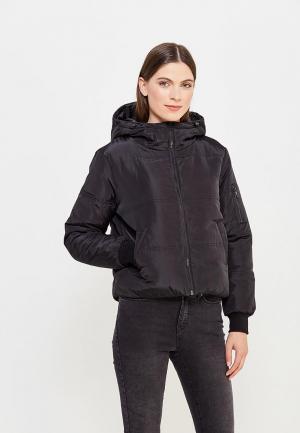 Куртка утепленная Jacqueline de Yong. Цвет: черный