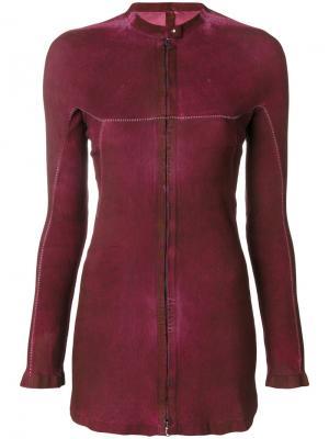 Куртка со вставкой Isaac Sellam Experience. Цвет: розовый и фиолетовый