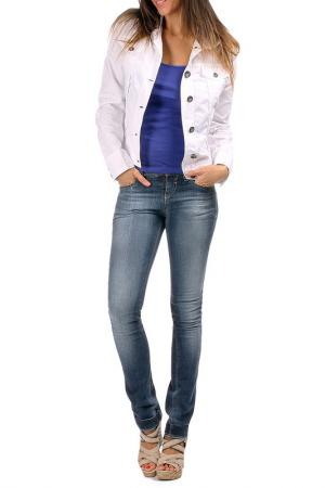 Куртка Laklook. Цвет: белый