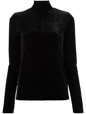 Velour turtle neck top G.V.G.V.. Цвет: чёрный
