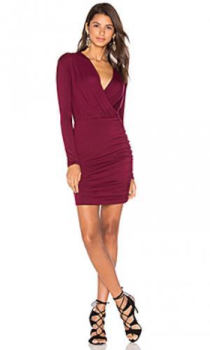 Платье kelsi De Lacy. Цвет: вишня