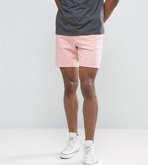 ASOS Розовые трикотажные шорты TALL. Цвет: розовый