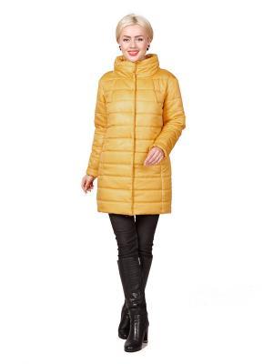 Пальто ROSSO-STYLE. Цвет: желтый