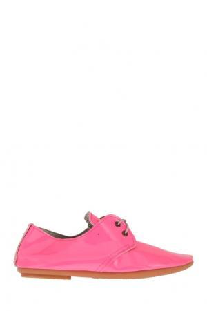Кожаные мокасины Anniel. Цвет: розовый