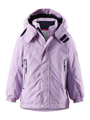 Куртка Reima. Цвет: сиреневый