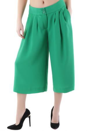 3/4 pants Cristina Gavioli. Цвет: green