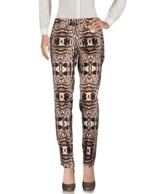 Повседневные брюки THOMAS WYLDE. Цвет: темно-коричневый