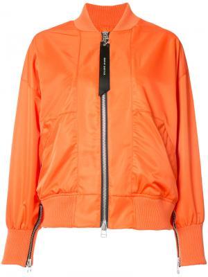 Куртка-бомбер Heroine II Daniel Patrick. Цвет: жёлтый и оранжевый