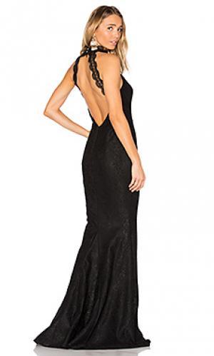 Вечернее платье medina Elle Zeitoune. Цвет: черный