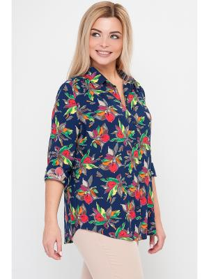 Рубашки Limonti. Цвет: темно-синий, зеленый, красный