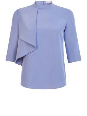 Блуза Ksenia Knyazeva. Цвет: синий