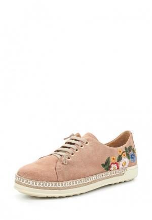 Ботинки Grand Style. Цвет: бежевый