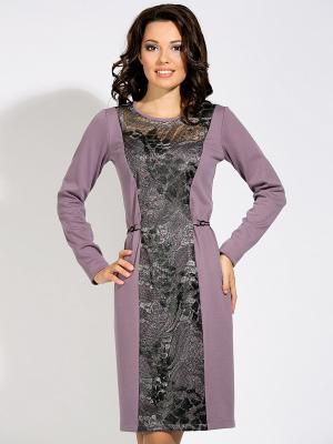 Платье D`imma. Цвет: сиреневый