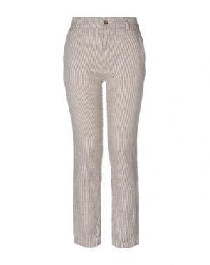 Повседневные брюки LOCAL APPAREL. Цвет: темно-коричневый