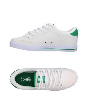 Низкие кеды и кроссовки C1RCA. Цвет: белый