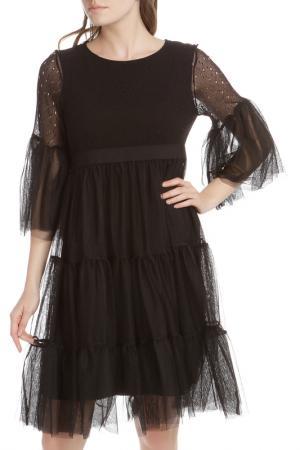 Платье HANNY DEEP. Цвет: черный
